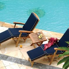 Teak Steamer Chair | Classic Teak Deck Chair