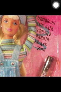Cool Blue Barbie