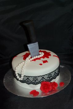 Ooh La Cakes By Melissa Murder Mystery Cake cakepins.com