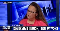 Kim Davis gave an interview to Fox News Wednesday night. It didn't go well for her.