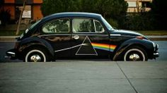 My dream car...Well, actually I'd prefer a VW van painted up like this. But I'd gladly drive either one. <3