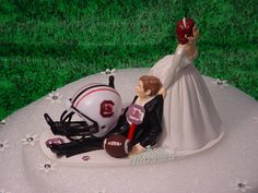 My son has to have this for his grooms cake if he ever gets married!  Lol