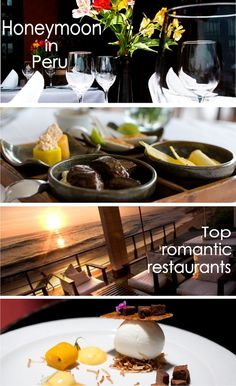 Gorgeous restaurants in Lima Peru for a romantic dinner during a honeymoon trip