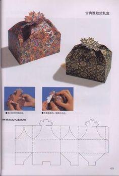 http://variasmanualidades.wordpress.com/2009/03/14/carton-y-papel-moldes-para-montar-cajas/