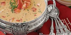 An elegant and luscious soup.