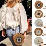 Fashion Round Shoulder Bag Rattanratan bag |rattan bag | ratang bag | beach | beach outfit | bag | summer bag | swimsuit | dresses | swimwear | outfit | Beach Accessories, Rattan, Beachwear, Shoulder Bag, Bikinis, How To Wear, Bags, Collection, Women