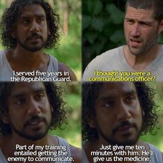 Sayid and Jack