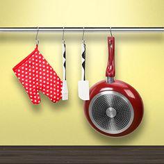 Amerigo S Hooks for Hanging - Set of 10 Heavy Duty Stainless Steel Kitchen S Shaped Hooks - Large