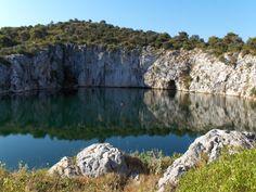 Dragon Eye Lake, Rogoznica, Croatia
