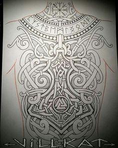 Nice viking backpiece
