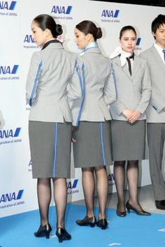 ANA All Nippon Airways cabin crew Japan new uniforms