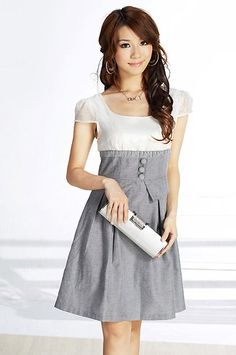 cute+summer+dresses | dress korean style long hair cute purse women Summer Style Dress ...