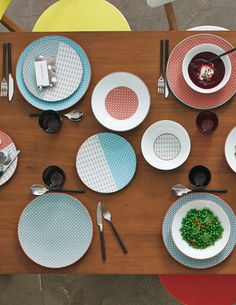 BOEM, une gamme de vaisselle aux coloris très actuels !
