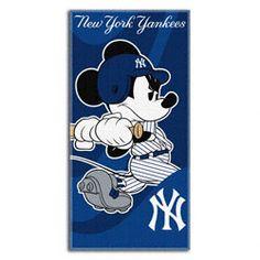 New York Yankees Wind Up Mickey 30x60 Beach Towel $21.99 http://www.fansedge.com/New-York-Yankees-Wind-Up-Mickey-30x60-Beach-Towel-_-1143708171_PD.html?social=pinterest_pfid23-36086