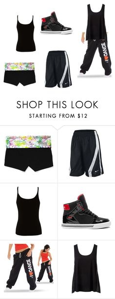 """""""Untitled #141"""" by kena-luv ❤ liked on Polyvore featuring Victoria's Secret, NIKE, Lipsy, Supra and Forever New"""
