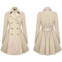 Invierno-Mujeres-doble-botonadura-de-lana-abrigo-largo-Slim-Fit-Femininas-Ropa
