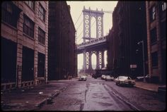 This is Dumbo- A collection of vintage photos of Brooklyn taken in the summer of 1974. Photographer Danny Lyon spent two months snapping pictures of the daily life in the borough — exploring Bushwick, Bedford-Stuyvesant, Fort Green and Park Slope.