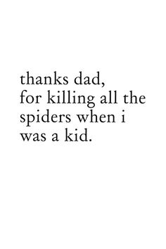 fathers day card 2015, SPIDERS