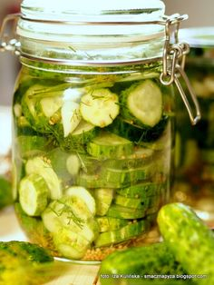 Kitchen Witch, Preserves, Vinegar, Pickles, Cucumber, Pantry, Salads, Food And Drink, Homemade