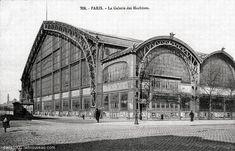 The galerie des Machines in Paris. Built for the Paris World's Fair of 1889 Industrial Architecture, Architecture Old, Paris Pictures, Paris Photos, Tour Eiffel, Architecture Parisienne, Le Palais, Environment Concept Art, Brick And Stone