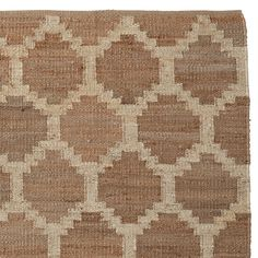 Hemp Honeycomb Rug | Serena & Lily