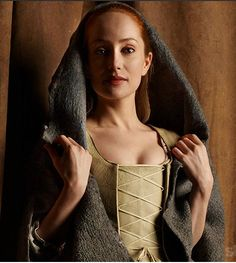 """Lotte Verbeek IS Geillis through and through."" - Terry Dresbach, costume designer for Outlander on Starz. See her website for wonderful behind the scenes info on the show!"