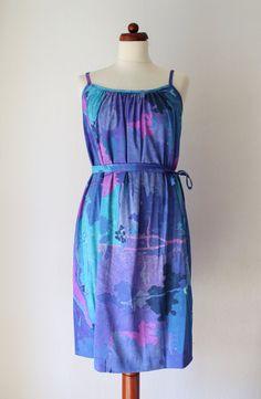 Vintage Dress  1970s Sundress with von PaperdollVintageShop, €19.90