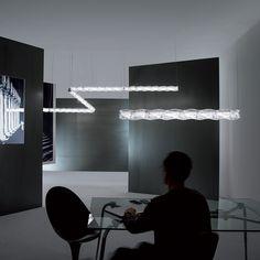 Lámpara suspensión Hugo de Slamp. Lamparas de diseño. Lámparas colgantes