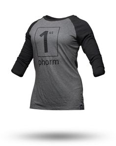 The womens Phit 3/4 Sleeve T-Shirt has great breathability and a superior fit. When you wear it to the gym or out on the town you will looked jacked! Priorities ladies!