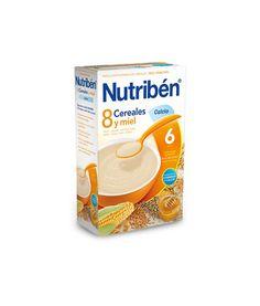 Nutriben 8 cereales y miel calcio