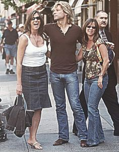 Dorothea Bongiovi, Jon Bon Jovi, and some other lucky lady . @if-i-could-kidnap-an-angel | Tumblr