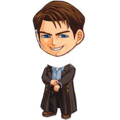 Mix and Match Magnets: Captain Jack Harkness (Doctor Who/Torchwood) via cosplayscramble magnets (sooooo many... soooo cute). click through to see all of them!