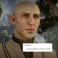 My main inquisitor's romance- Thinking of these two gives me too many feels. Dragon Age Inquisition Solas, Dragon Age Solas, Da Inquisition, Witty One Liners, Fandom Games, Dragon Age Games, Xenoblade Chronicles, Scott Pilgrim, A Series Of Unfortunate Events