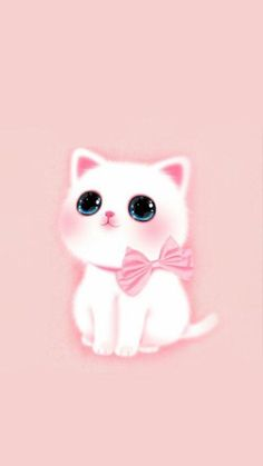 Pretty phone wallpaper, cat wallpaper, kawaii wallpaper, wallpaper for your phone, kawaii Cat Pattern Wallpaper, Cute Cat Wallpaper, Cute Disney Wallpaper, Kawaii Wallpaper, Cute Wallpaper Backgrounds, Animal Wallpaper, Cute Cartoon Wallpapers, Cute Animal Drawings, Kawaii Drawings