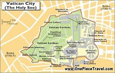 awesome Vatican (Holy See) Map