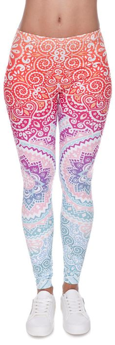Literally speechless at how beautiful and fresh these leggings are! The fit is awesome and the patterns are totally unique! $17.95 is a total deal! Plus Free Shipping!