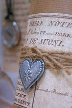 heart with twine