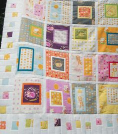 Kate Conklin Designs: Fussy Framed quilt and Giveaway Day!
