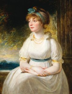 Sophia, Princess of the United Kingdom and Hanover; by Sir William Beechey, c. 1797. She was the daughter of King George III.