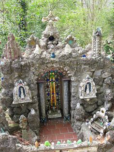 """Temple of the Fairies""--- taking fairy gardens to a whole new level--amazing!"