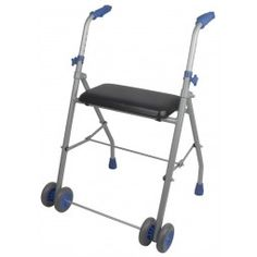 Andador con ruedas de aluminio ligero  #ortopedia #orthopedia #walkers #mobilitywalkers #andadores #adultos #mayores #terceraedad #salud #health #ortopediaplus
