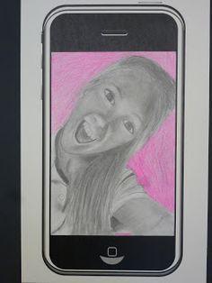 The Calvert Canvas: Adventures in Middle School Art!: #Selfie