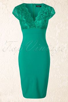 Isabelle Lace Pencil Dress in Emerald Green - - Vintage Chic V Neck Lace Pencil Dress 100 40 15646 20150615 Source by emijani Green Dress Outfit, Dress Outfits, Fashion Dresses, Stylish Summer Outfits, Bright Dress, Lace Dress, Dress Skirt, Elegant Dresses, Pretty Outfits