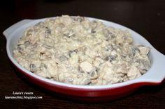 Reteta culinara Salata de pui cu ciuperci si maioneza din categoria Salate. Cum sa faci Salata de pui cu ciuperci si maioneza