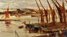 BBC News - An American in London: Whistler's paintings of Thames