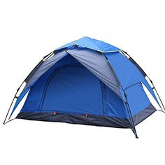 Beautylife66 Double Layer Tent 2 Person C&ing Backpacking Dome Tent  sc 1 st  Pinterest & Pop-Up Tents/Outdoor 2 Persons Tent Automatic Double Layers Camping ...