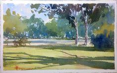 Watercolor/Aquarela Avelino.