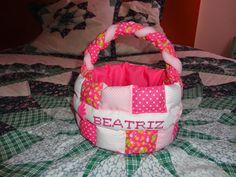 Fada Mimos: Esta cestinha foi me encomendada por uma colega. P...