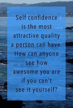 Self #Confidence Visit http://www.BeYourOwnYou.com to know more about positive self esteem.