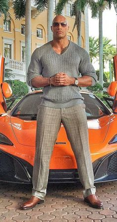 The Rock - Dwayne Johnson The Rock Dwayne Johnson, Dwayne The Rock, Rock Johnson, Dwayne Johnson Ballers, Dwyane Johnson, Sharp Dressed Man, Well Dressed, Handsome Black Men, Fine Men